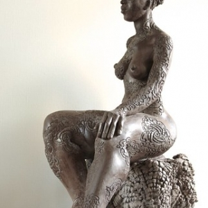 """Sculpture - Terre cuite -2013 • <a style=""""font-size:0.8em;"""" href=""""http://www.flickr.com/photos/34962229@N07/14658315427/"""" target=""""_blank"""">View on Flickr</a>"""